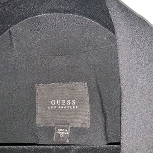 Guess Jackets & Coats - GUESS relaxed fit blazer with shoulder pads